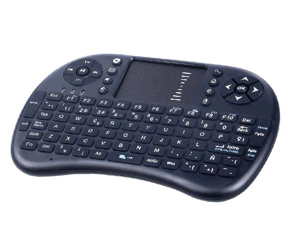 Mini teclado inalámbrico 2.4g con toucHpad smart tv MTK k3432