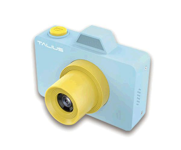 Camara Digital Talius Pico Kids Azul / 32gb / Video 720p / 18mp / Camara frontal Selfie / Funda + bolsa transporte