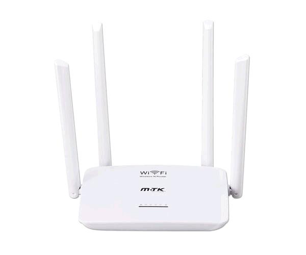 Router Wifi inalambrico Rt635 / Wireless-N / 300mbps / 4 puertos / 1 Wan / 4 antenas / Blanco
