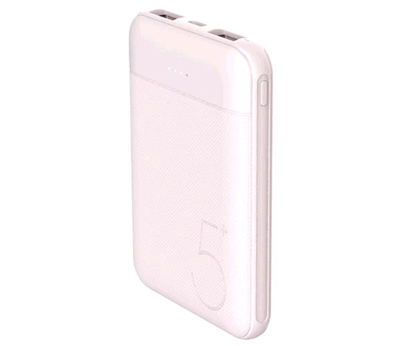 Power bank Persian 6500 mah Nd2035 / 2xUSB / Indicador Led / Rosa / Mtk