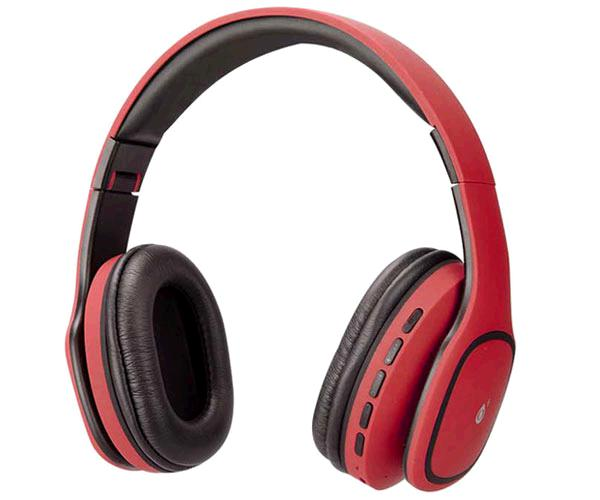 AURICULARES BLUETOOTH + MICRO MP3 TRIVIA C4354 ROJO ONE+