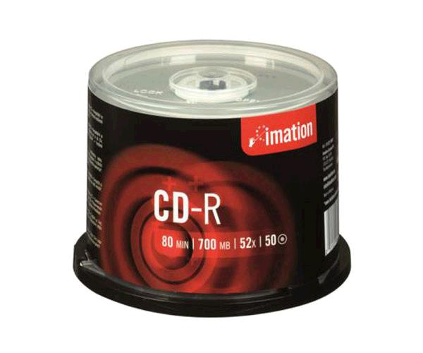 Cd-r Imation 700mb tarrina 50 uds