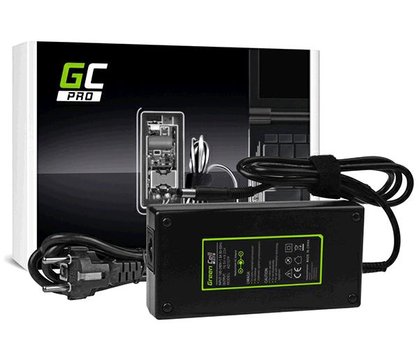 Cargador portatil Gaming Dell Alienware 13 R3 / 19.5v  9.23a  7.4x5mm / 180w Greencell