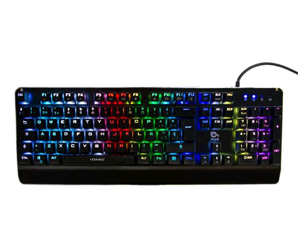 TECLADO GAMING TALIUS CERBERUS MECANICO / RGB / SWITCH KAILH RED