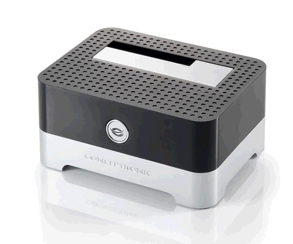 Docking station conceptronic sata 2.5 / 3.5 / Ssd / USB 2.0 / negro