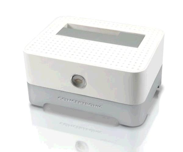 Docking station conceptronic sata 2.5 / 3.5 / Ssd / USB 3.0 / blanco / C05-504