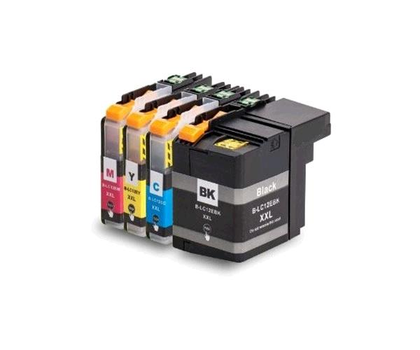 Inkjet comp. Brother lc12e amarillo
