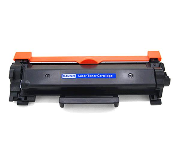 Toner comp. Brother TN2420 / TN2410 negro 3.000 pag. chip + bateria