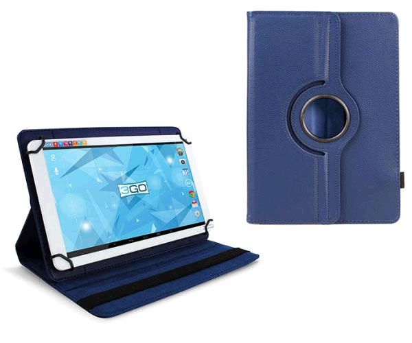 Funda tablet 10.1 pulgadas ajustable panoramica azul 3go