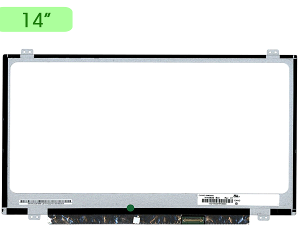 Pantalla portatil 14 Slim LED edp 30 pines