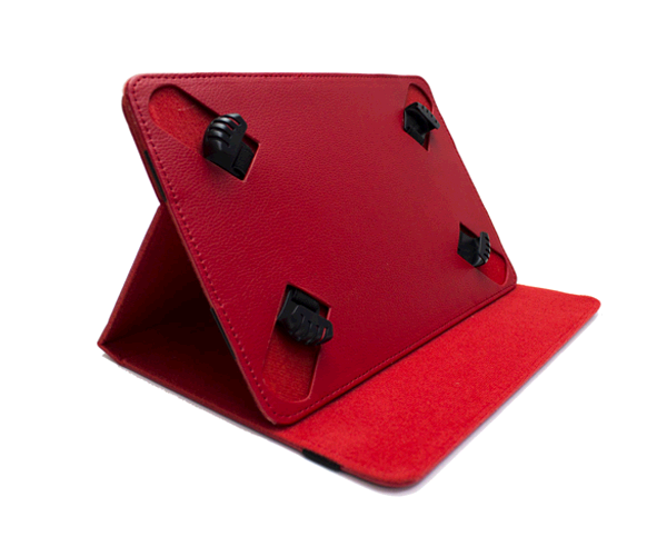 FUNDA TABLET 6-7 PULGADAS AJUSTABLE ROJA  MTK