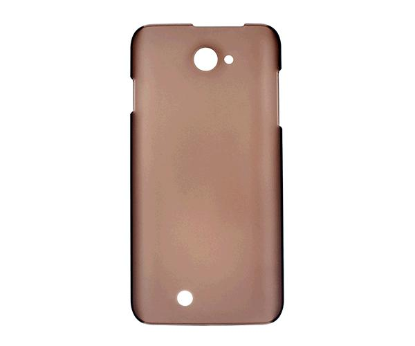 Carcasa rigida marron para movil THL w200