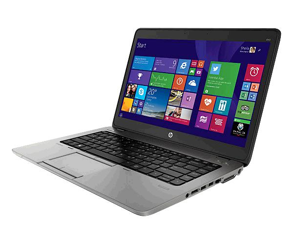 Port. Hp Elitebook 840 g2 Ocasión 14p/ i5-5th / 8Gb / 256Gb SSD / Win 7 pro / webcam / teclado Español