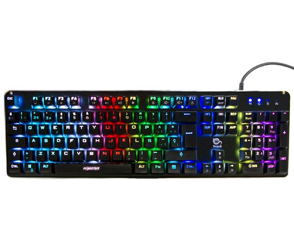TECLADO GAMING TALIUS KIMERA MECANICO / RGB / SWITCH KAILH BLUE
