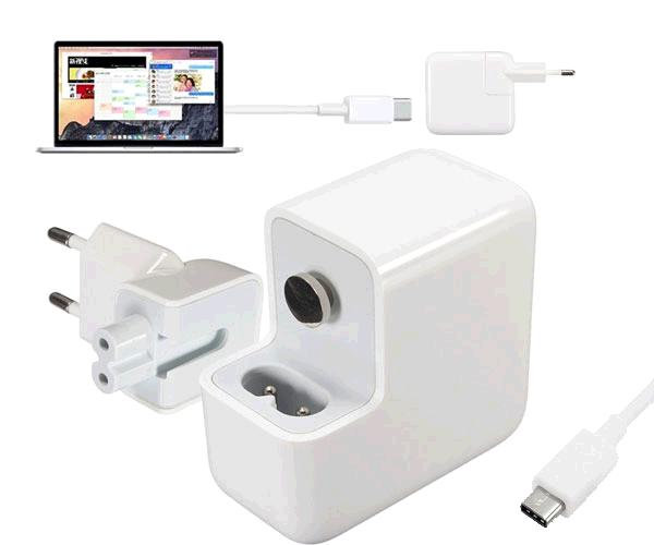 Cargador portatil Apple USB Type-C 14.5v 2a 29w