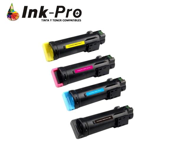 Toner Inpro xerox phaser 6510/workcenter 6515 cian 2.400 pag premium 106r03480/106r03476
