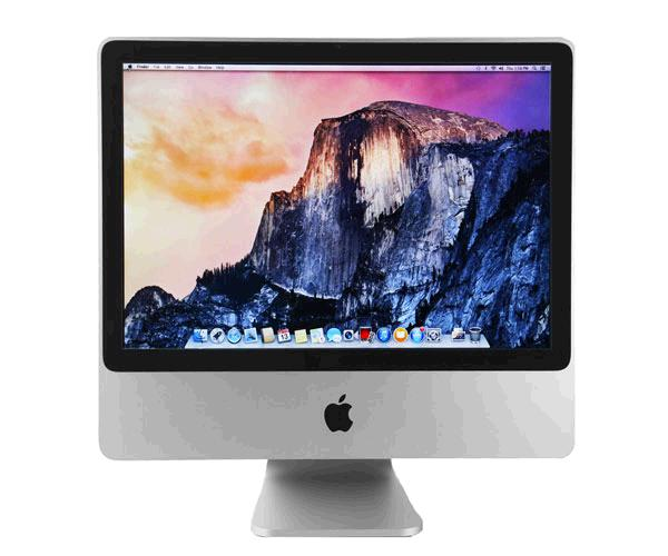PC APPLE A1224 IMAC 20 PULG. OCASION / C2D E8135 2.4GHZ / 4GB / 320GB / DVD