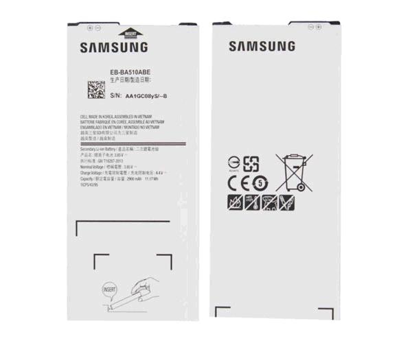 BATERIA MOVIL SAMSUNG GALAXY A5 2016  / SM-A510 / EB-BA510ABE