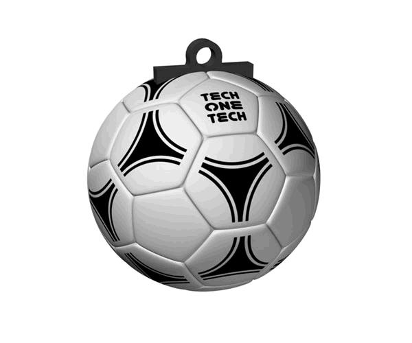 Pendrive animado USB 2.0 16Gb - balon futbol