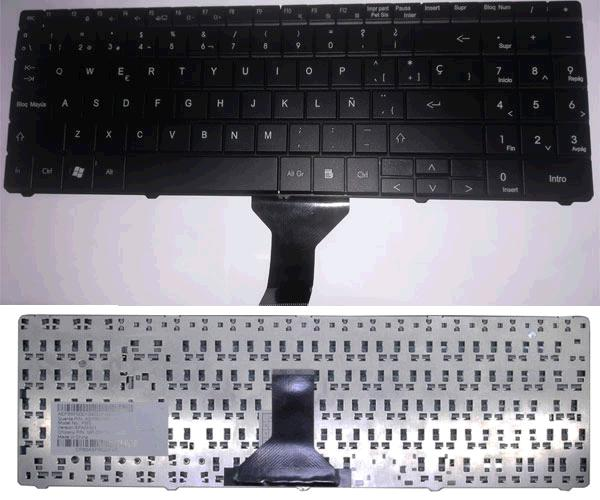 TECLADO P.BELL EASYNOTE ML61 / ML65 / ETNA GL / VERSION 2
