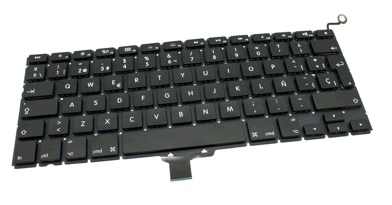 TECLADO APPLE A1278