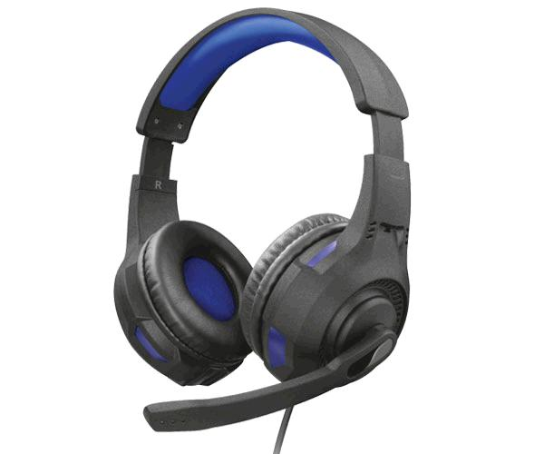 AURICULARES TRUST GAMING GXT 307B RAVU AZUL / MICRO PEGABLE / PC / PS4 / XBOX ONE / NINTENDO