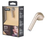 AURICULAR BLUETOOTH CT765 PEBBLE - VOZ HD ORO MTK