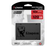 DISCO DURO 2.5 SSD KINGSTON 120GB SSDNOW SATA3 SA400